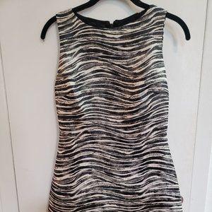 NWT Alice + Olivia for SCOOP Zebra Mini Dress
